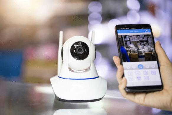 Cámara de videovigilancia para negocios y comercios